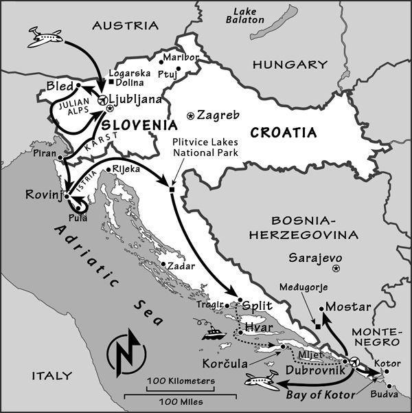 Slovenia Croatia Itinerary Where To Go In Slovenia And Croatia By Rick Steves Ricksteves Com Croatia Itinerary Croatia Slovenia Travel
