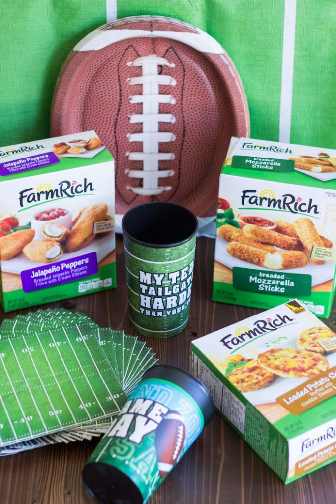 Get ready for football season! Your goto snacks and