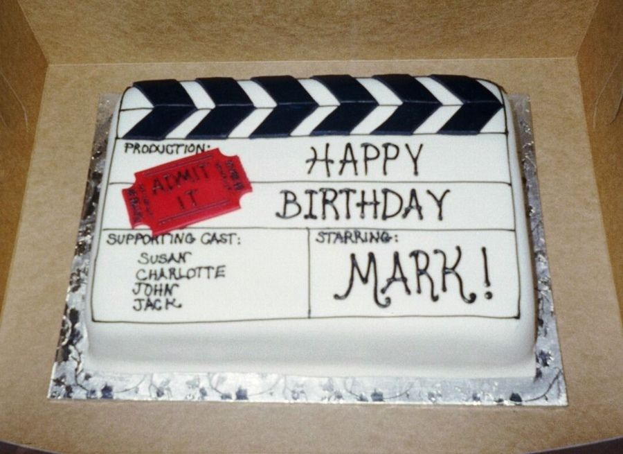 Movie Themed Cake Designs : Movie Themed Cakes movie themed birthday cake   Birthday ...