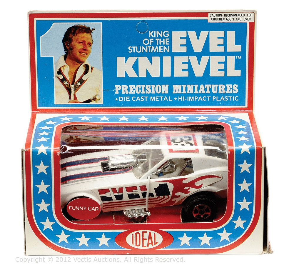 evel knievel 1970s ideal toys model