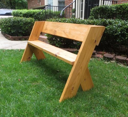 Ryobi Nation Easy Outdoor Bench Wood Bench Outdoor Diy Wood Bench Outdoor Wood Projects