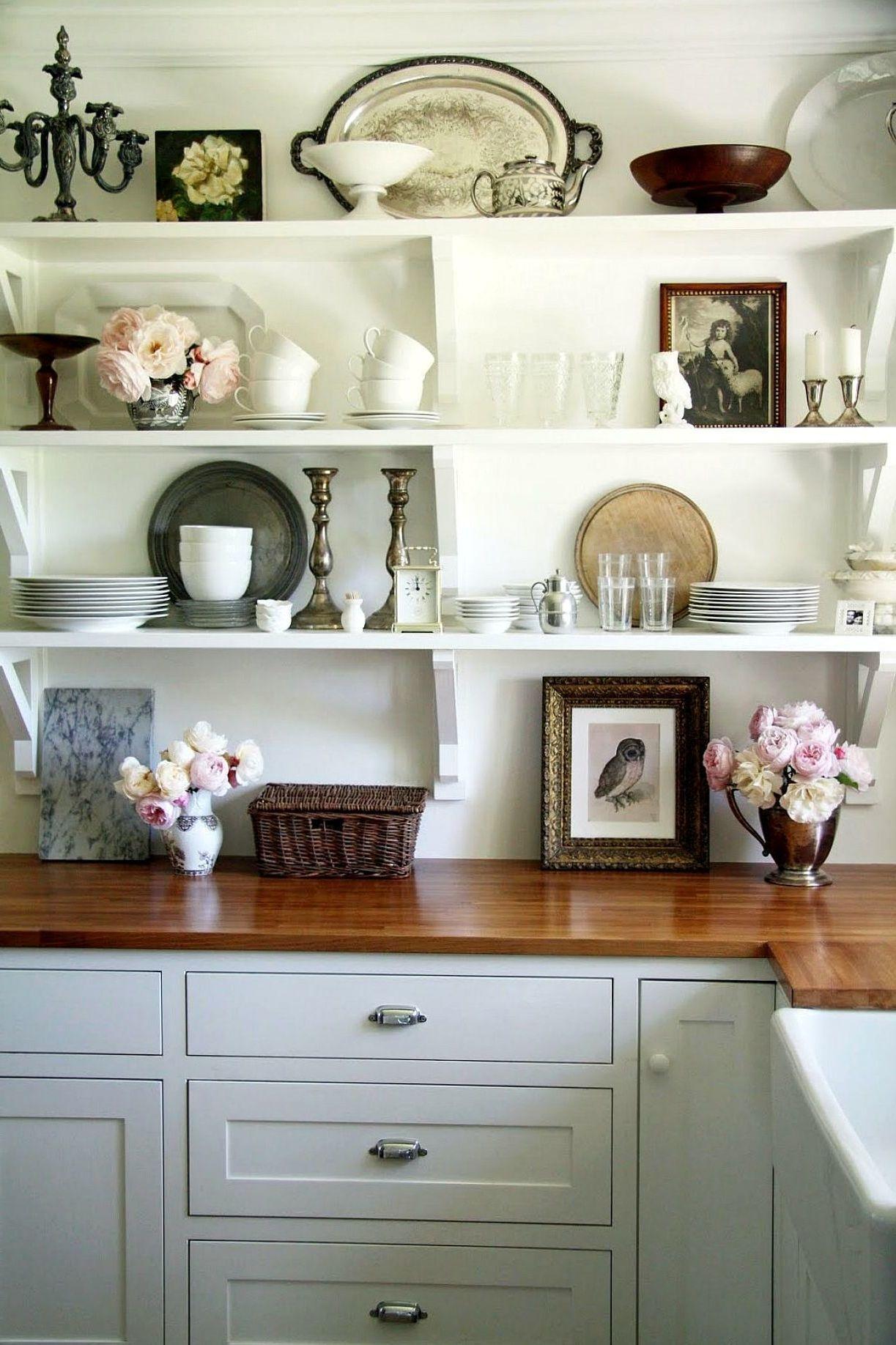 open shelving kitchen design ideas  kitchen remodel