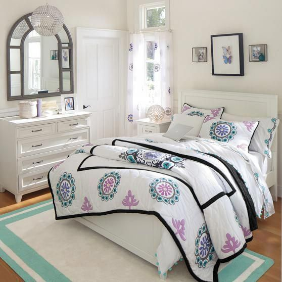 Teen girl bedrooms, pop to this idea for one truly easy ... on Bedroom Reference  id=59993