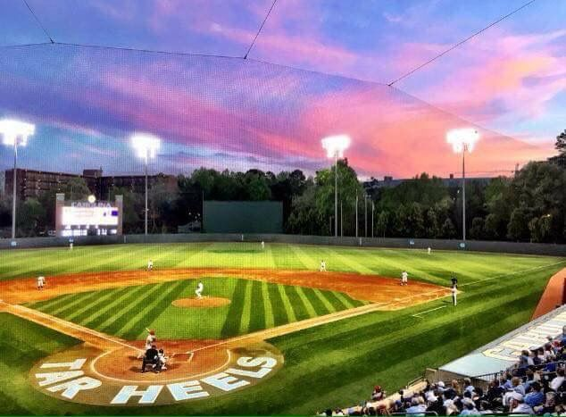 Pin By Keith Pickels On Unc Baseball With Images Baseball Field College Baseball Field