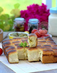 ✿ ❤ ♨ Peynirli Dızmana Böreği (Göçmen Böreği) Tarifi (bilenler bilir dızmana, çok lezzetli yumuşacık, puf puf bir börektir. Mutfakta biraz oyalanmak isteyenler için çok uygun bir börek tarifi :)