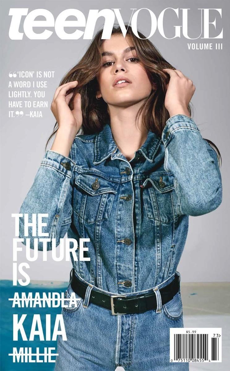 Kaia Gerber by Collier Schorr for Teen Vogue September 2017 | Cover ...