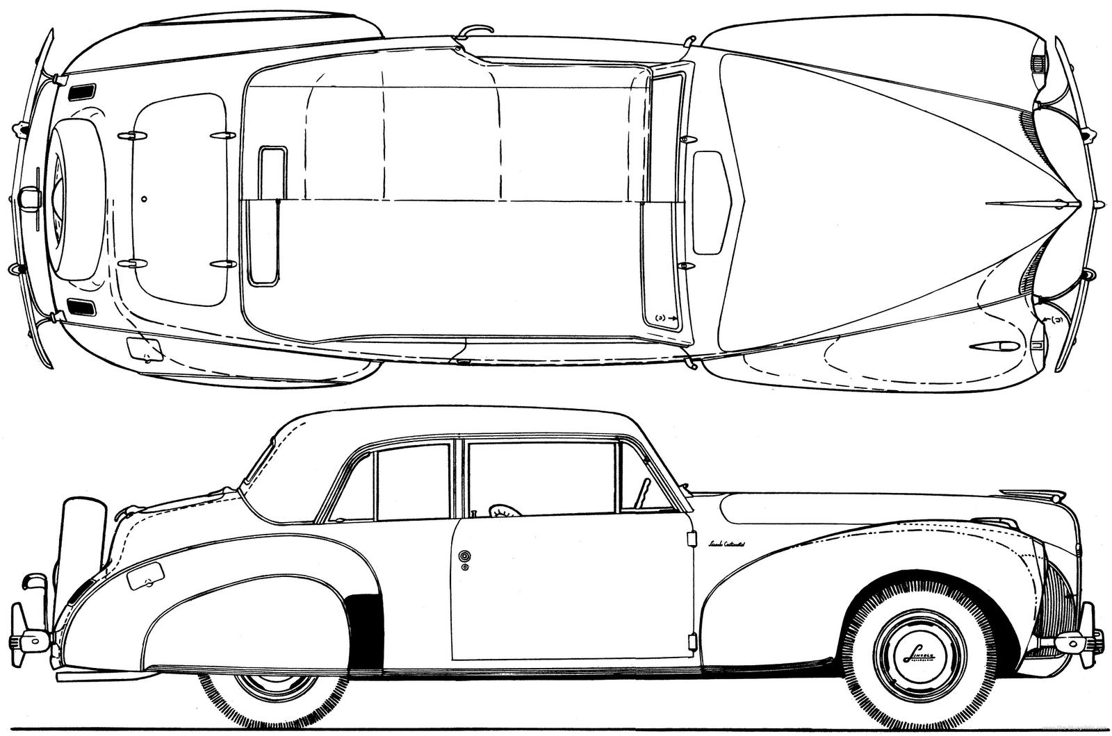 Automobile Blueprints Blueprints