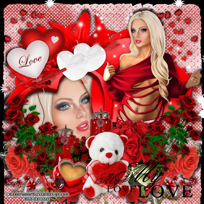 Chrisjes Psp Creatie\'s: My Love | psp lesjes | Pinterest | Psp