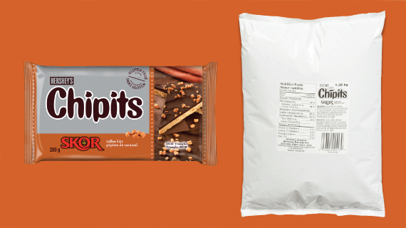 Hershey S Chipits Skor Toffee Bits Toffee Bits Baked Chips Baked Dessert Recipes