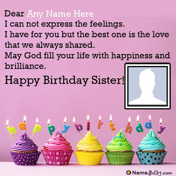 Customize Birthday Wishes For Elder Sister Birthday