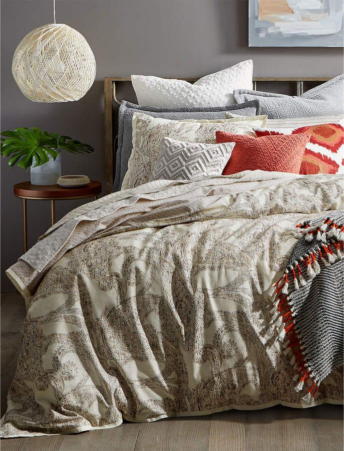 Lucky Brand Leila Twin Duvet Set In 2020 Comforter Sets Twin