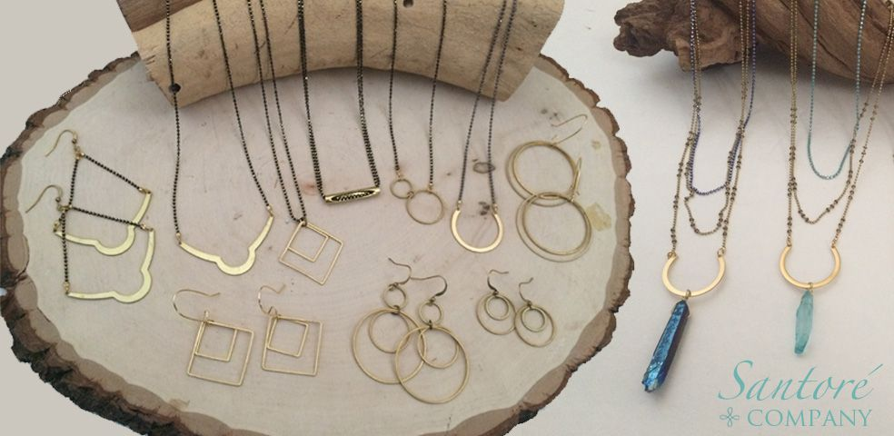 brass jewelry in great shapes | Santore Company | Los Angeles, California
