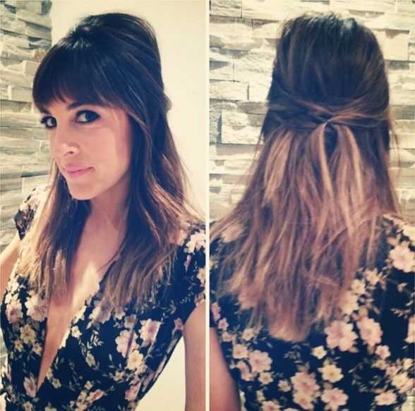 22 New Half Up Down Hairstyles Trends