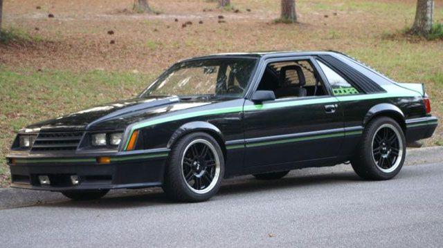 1980 Mustang Cobra Turbo