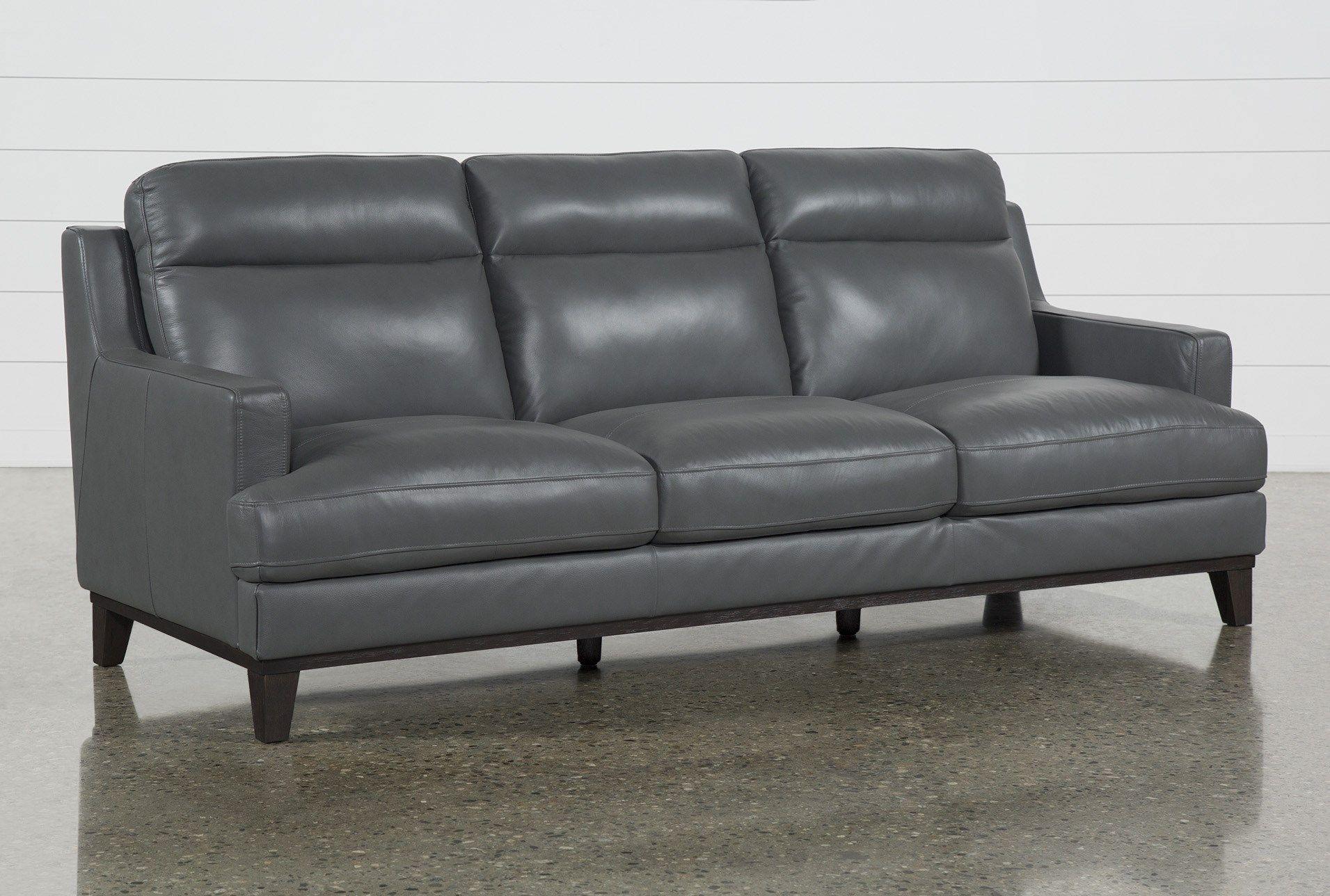 Kathleen Dark Grey Leather Sofa With Images Grey Leather Sofa Leather Sofa Leather Sofa Living
