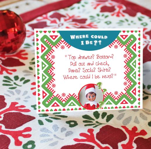 ?Hide N Seek Clues? (With images) Christmas bulbs, Clue, Elf