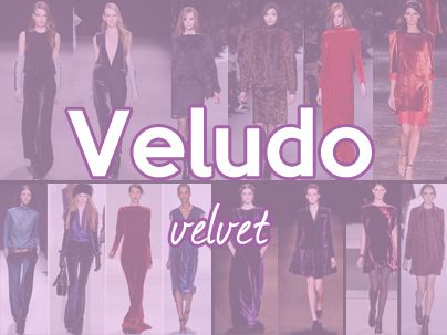 Esta pasta serve de inspiração para peças feitas com o tecido veludo  #veludo #velvet