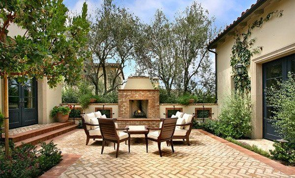Photo of 15 Traditional Courtyard Gardens | Home Design Lover