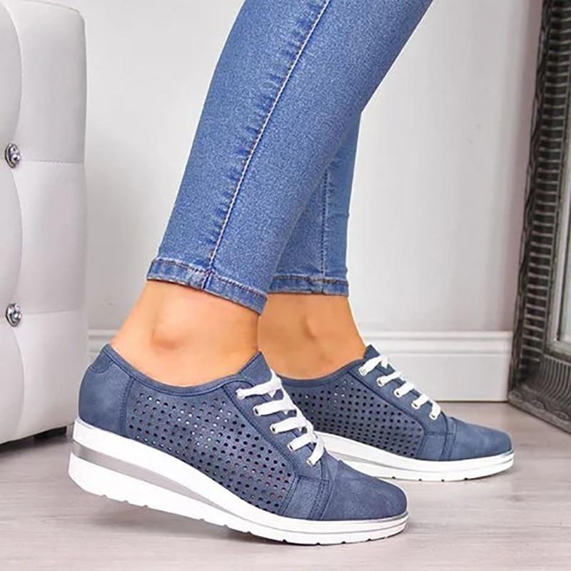 Calzado ® Zapatos De Mujer Tenis Plataforma Alta en 2020