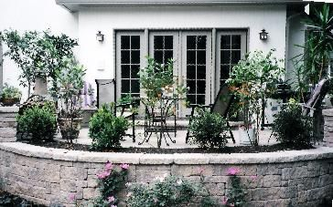 Like The Use Of Plantings To Soften Edge Of Patio And Provide Natural  Boundary · Raised PatioPatio PicturesBackyard ...