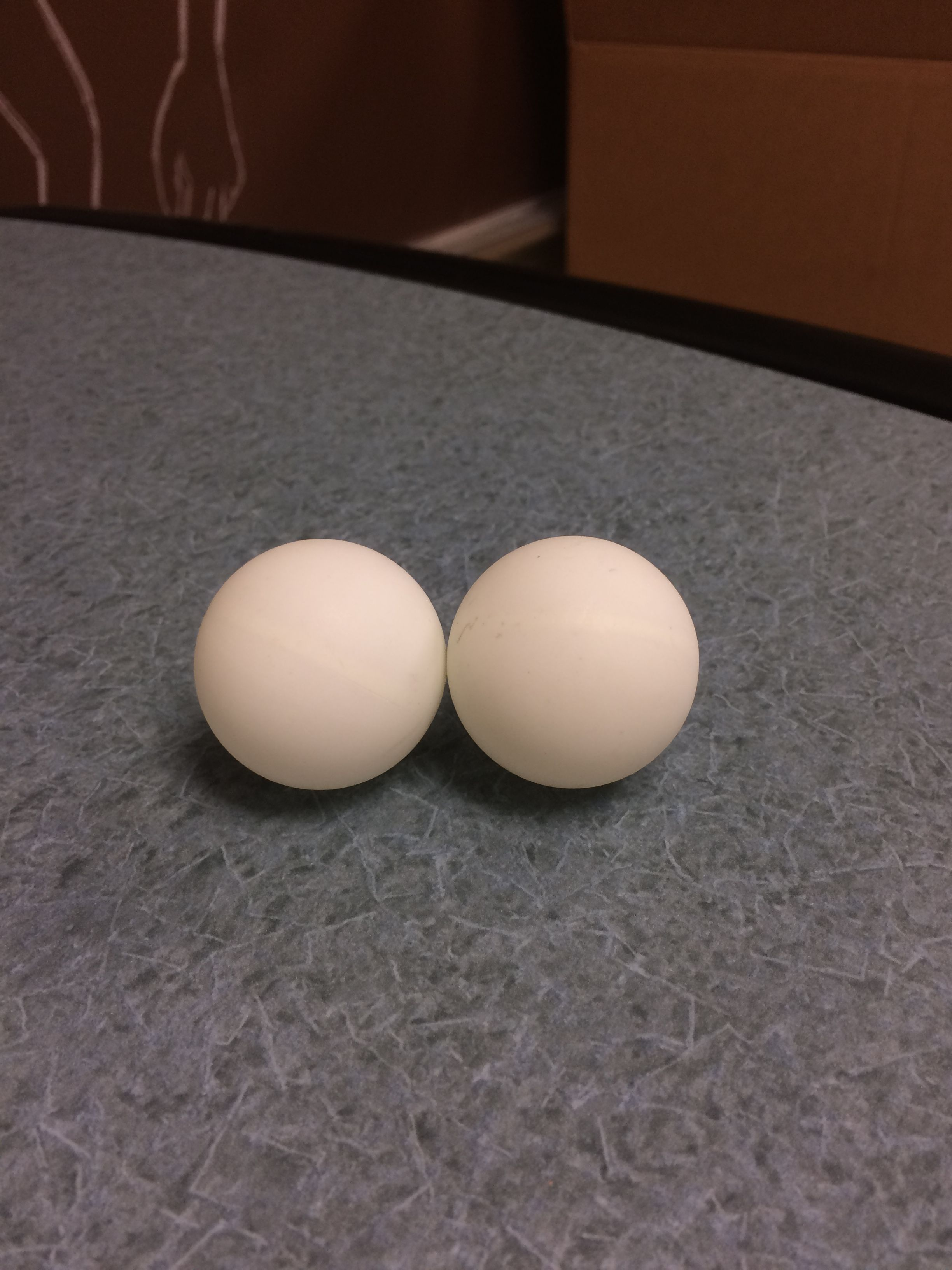 In This Picture The Balls Have Experienced An Inelastic