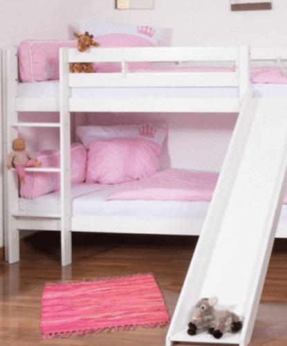 Olivia Bunk Bed With Slide Custom Kids Furniture Bunk Bed With