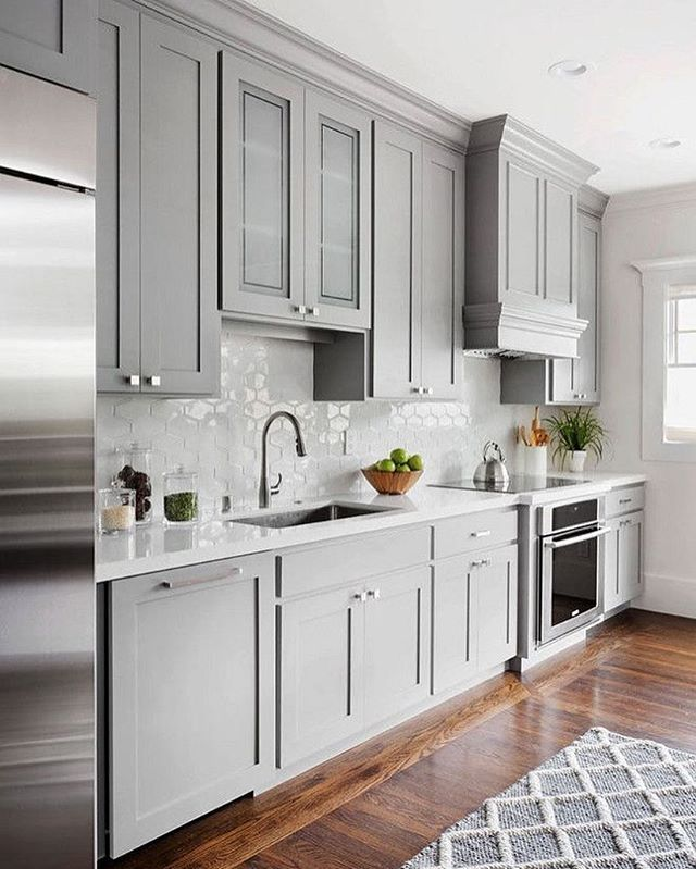 Painting Your Kitchen Cabinets Is No Small Undertaking: It's Amazing What A Lick Of Paint On The Walls And Stairs