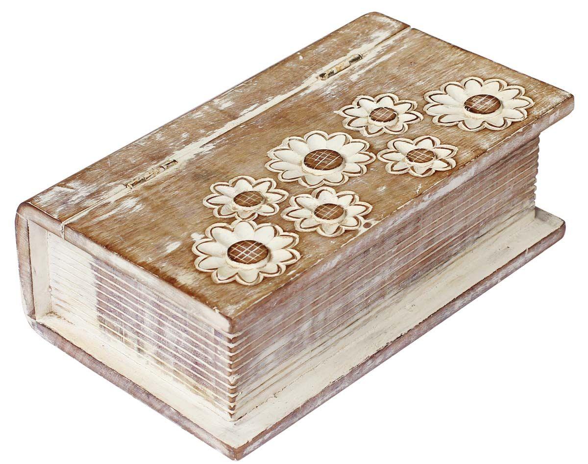 Bulk Wholesale Handmade MangoWood BookShaped Box Keepsake Box