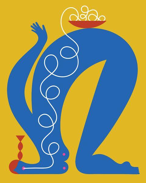 Spaghetti liberi, le illustrazioni di Olimpia Zagnoli - Il Post