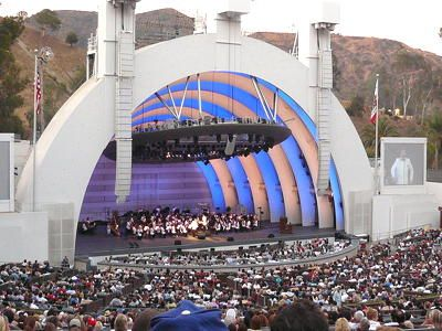 """tripYIP.com - """"Fun Things To Do!"""" loves LOS ANGELES, CA:  HOLLYWOOD BOWL  For over 70 years, the Hollywood Bowl has been the scene of some of the most memorable musical moments in Los Angeles history... symphonies, opera, jazz, ballet, presidential addresses, & rock concerts."""