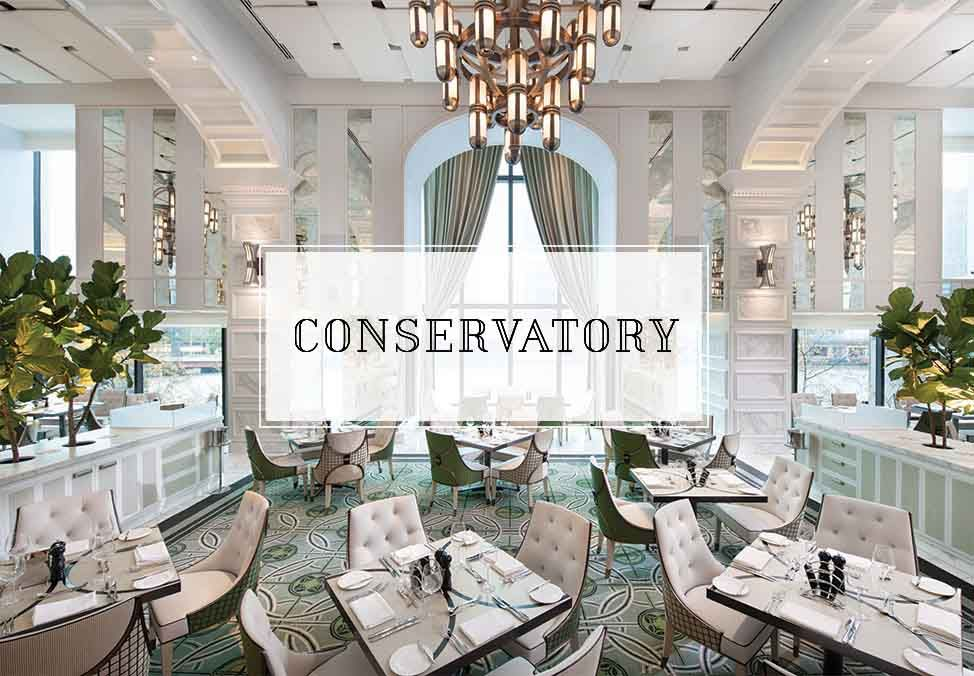 Conservatory Crown Booking