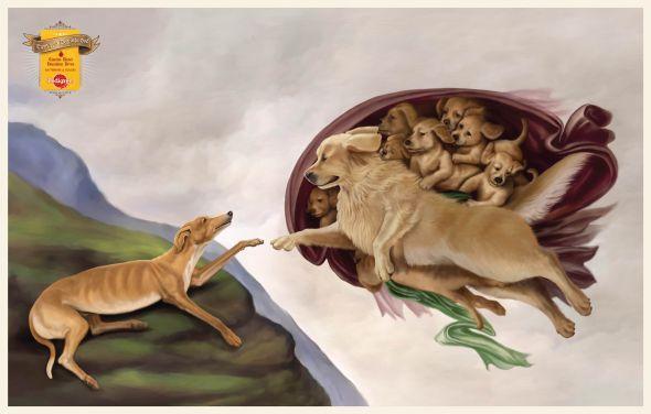 Pedigree Giving Life Pedigree Dog Food Print Ads Animals