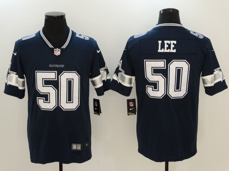 Men Dallas Cowboys 50 Sean Lee Blue Nike Vapor Untouchable Limited NFL  Jerseys fc579fa67