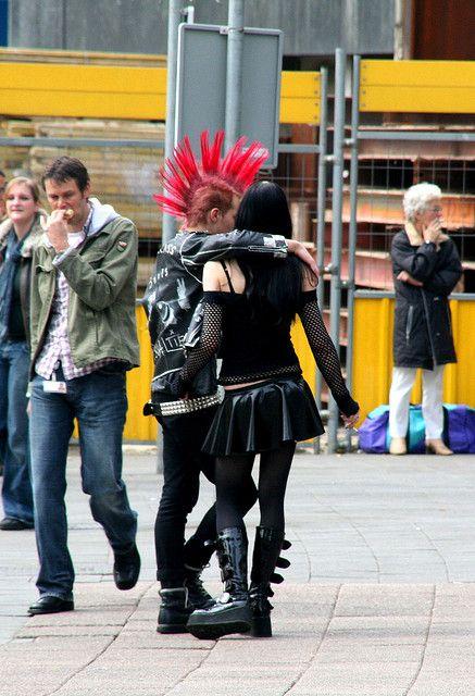 Punk Couple Punk Punk Guys Punk Culture