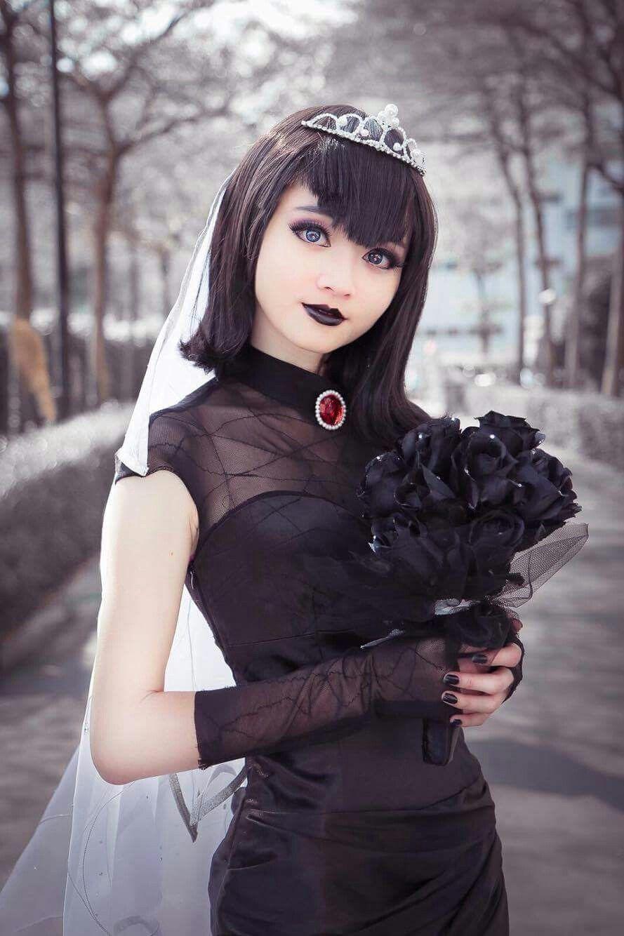 Mavis Wedding Dressfrom Hotel Transylvania 2 Cosplayer Cosplaymolly