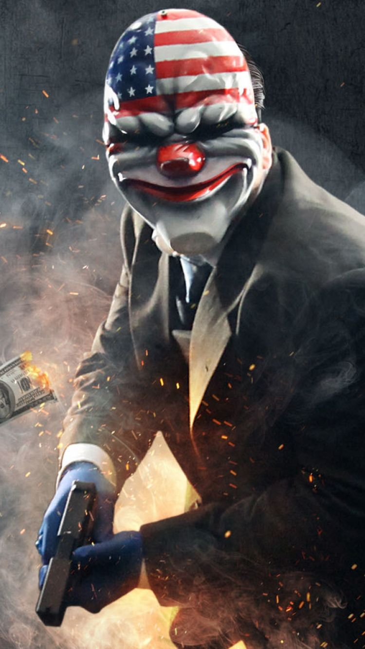iphone 6 payday 2 wallpapers hd desktop backgrounds