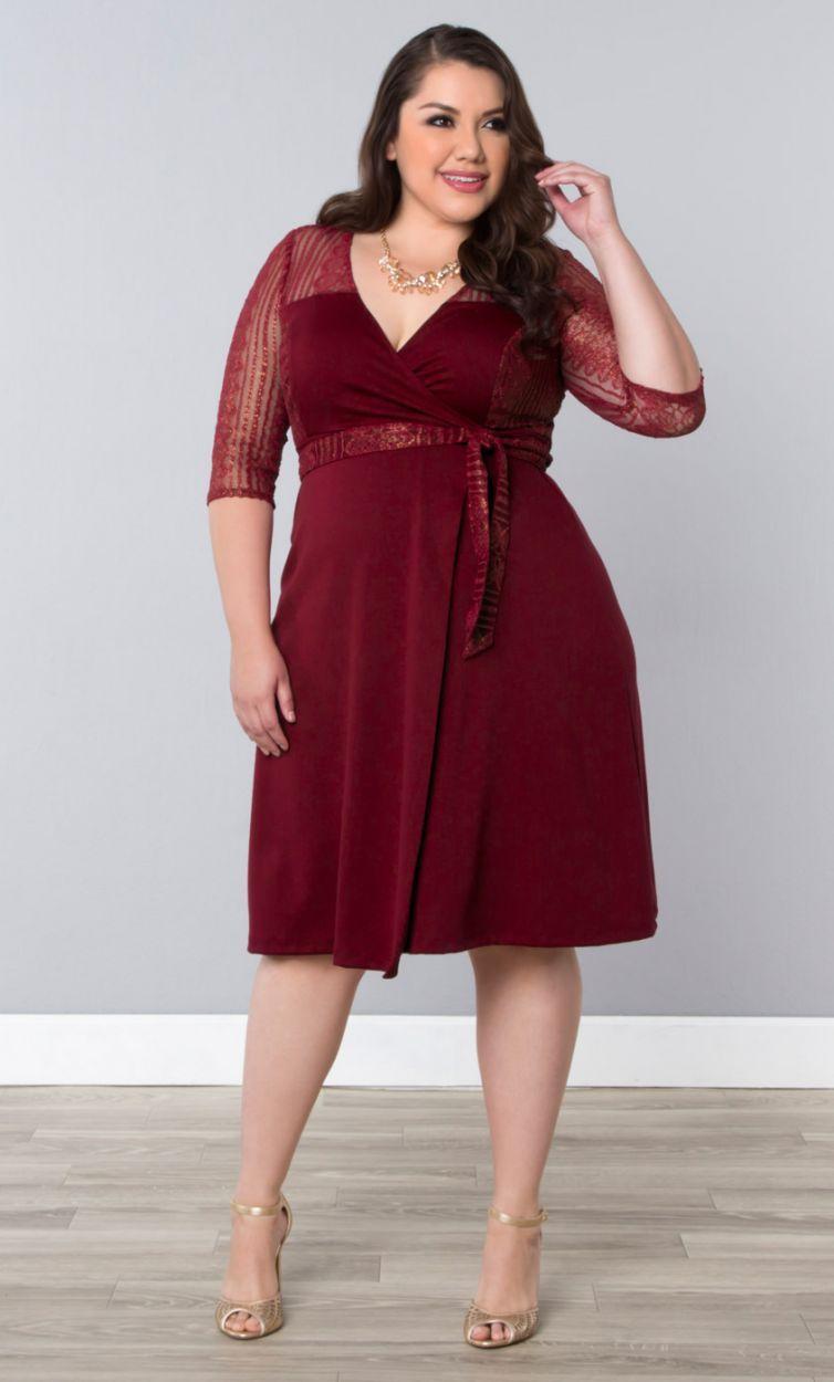 Ravishing Lace Wrap Dress-Sale | Something old, something new ...