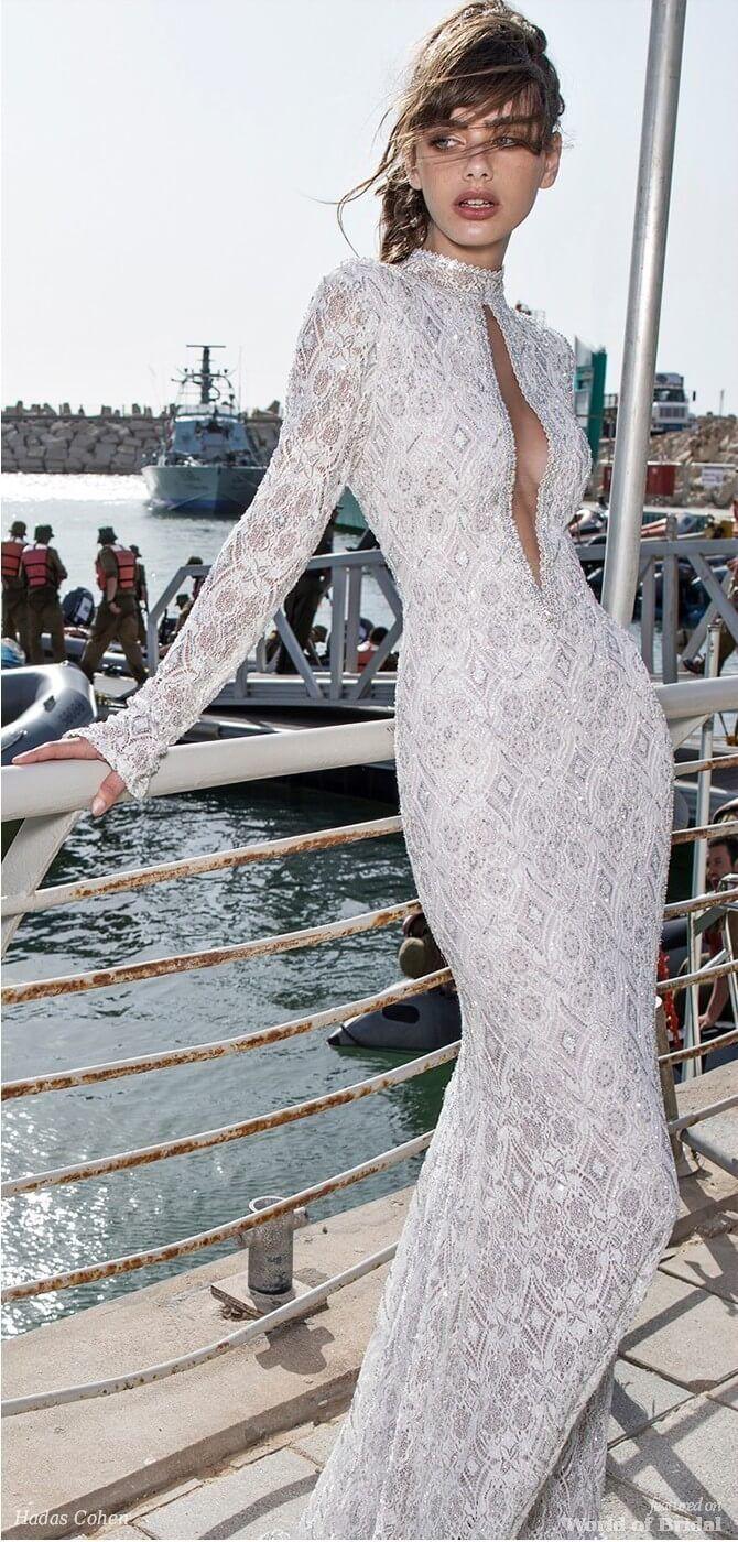 Hadas cohen wedding dress weddingdress fashion pinterest