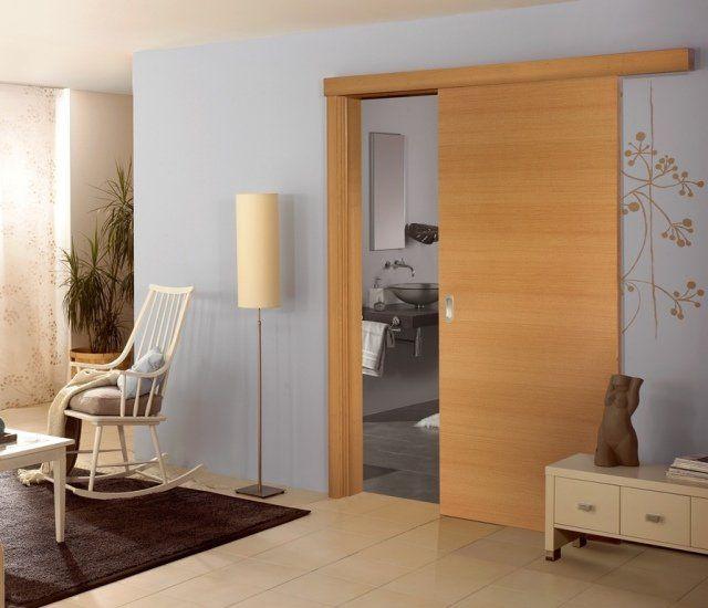 porte coulissante de design moderne 6 avantages majeurs - Porte De Chambre Coulissante