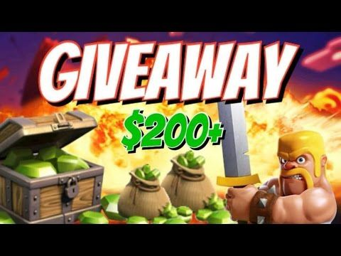 $200 Clash of Clans Free Gems iTunes/Google Play Gift Card ...
