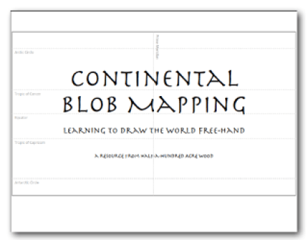 How to draw classical conversations cc blob maps blob mapping made continental blob maps gumiabroncs Choice Image