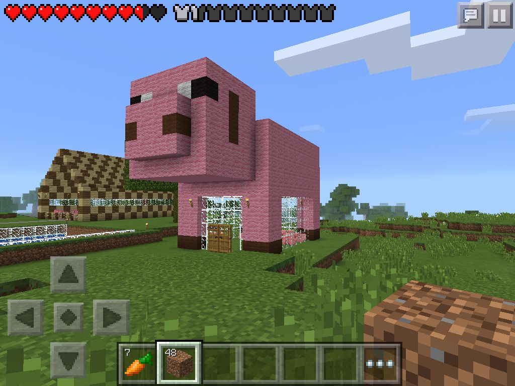 1000 ideas about minecraft images on pinterest for Big cute houses