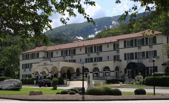 Any Visit To The Lake Lure Inn Cannot Long Avoid Two Subjects Ghosts And