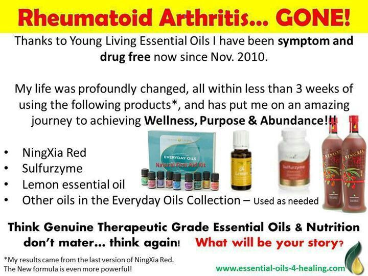 Rheumatoid Arthritis Relief With Essential Oils Learn More And