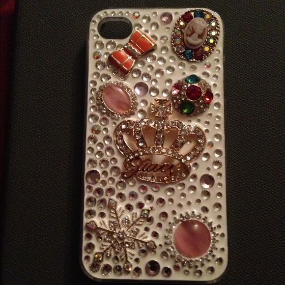 iPhone 4/4S Custom Jewels Case iPhone 4/4S Custom Jewel Case Accessories Phone Cases