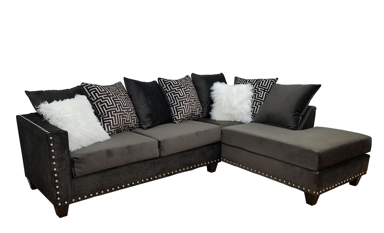 Dark Brown Sectional 300 By Kayla S Furniture Savvy Discount Furniture In 2020 Brown Sectional Sofa Brown Sectional Sectional