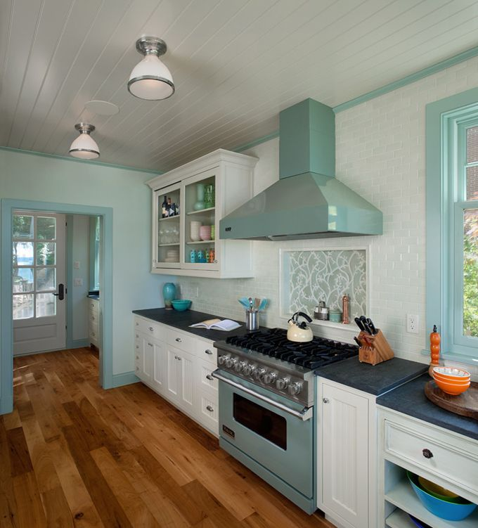 Perfect Beach House Kitchen From HOUSE OF TURQUOISE : J