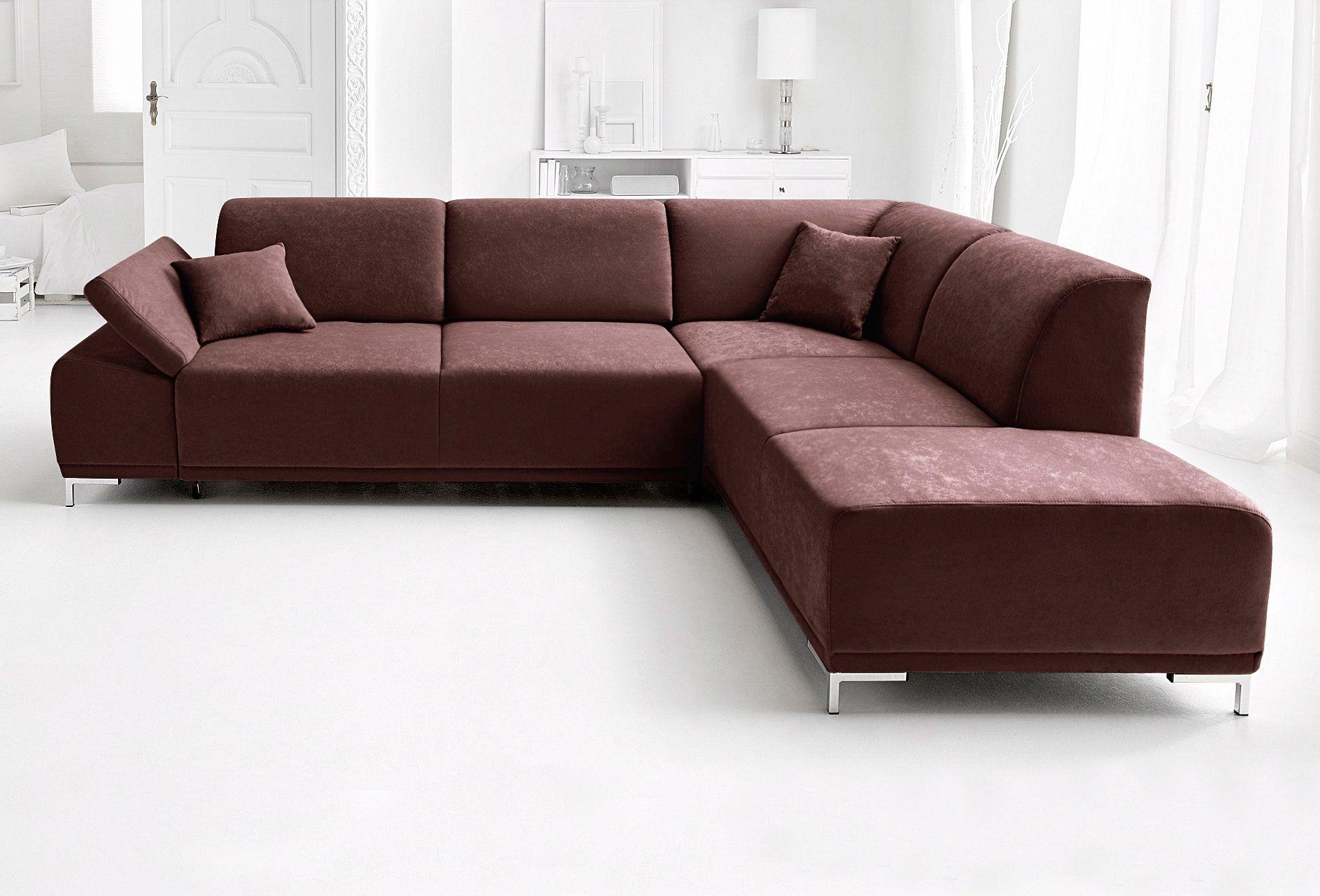 Wohnzimmer Garnituren ~ Polstergarnitur braun ottomane rechts fsc® zertifiziert
