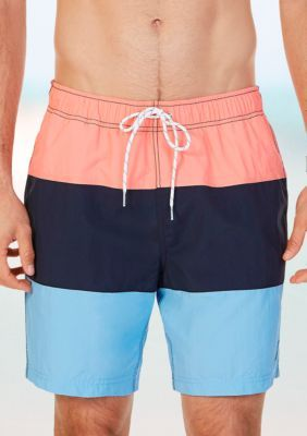 870192059da6ca Nautica Quick Dry Colorblock Swim Trunks | Products | Swim trunks ...