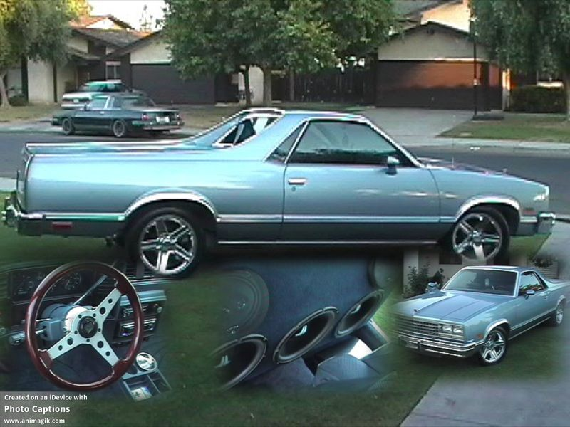 83 Elco Sittin On 17 Irocs Classic Cars Trucks Chevy Muscle Cars Mustang Chevrolet El Camino